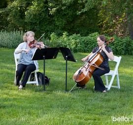 String Duo Musicians
